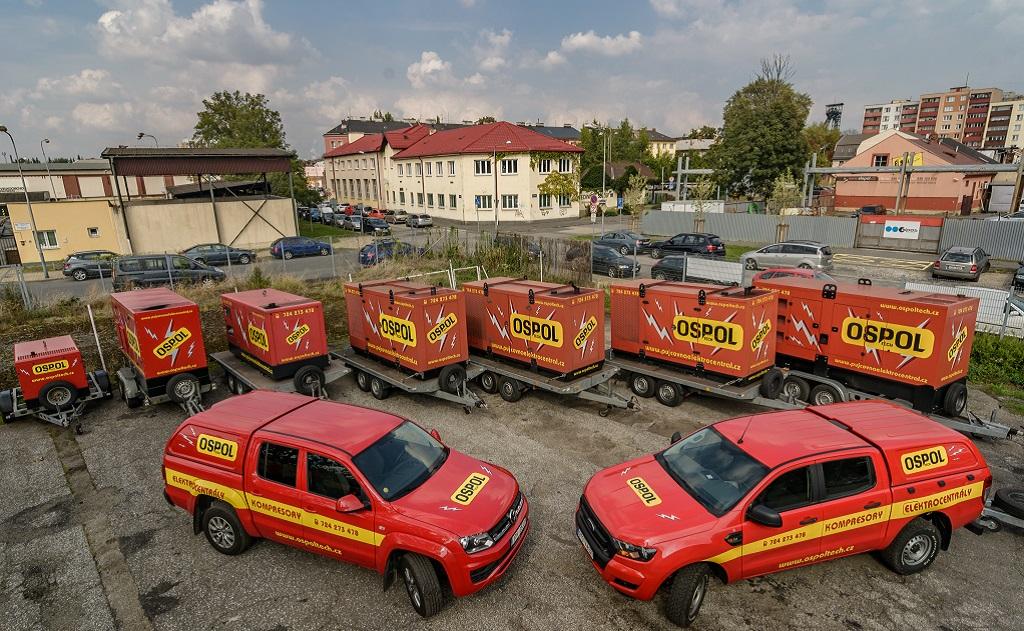 OSPOL TECH s.r.o. Elektrocentrály a kompresory Ostrava