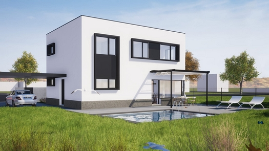 Výstavba pasivních rodinných domů