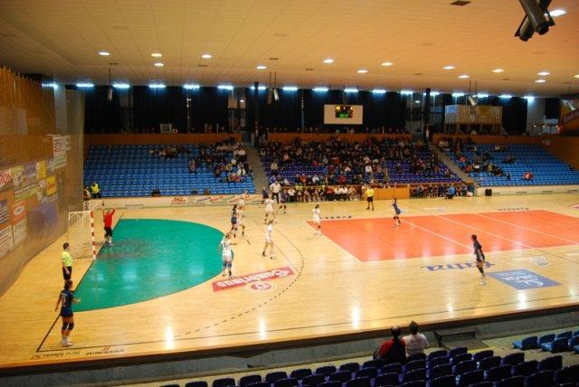 Víceúčelová hala pro sportovní utkání, veletrhy i výstavy