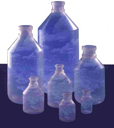 Plastové obaly, infuzní, injekční lahev plast