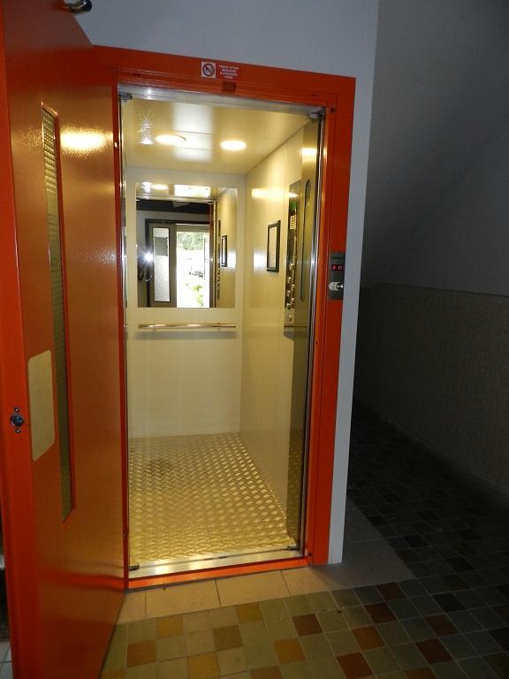 projekce výtahů