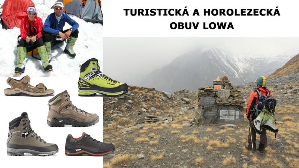 turistická a horolezecká obuv LOWA