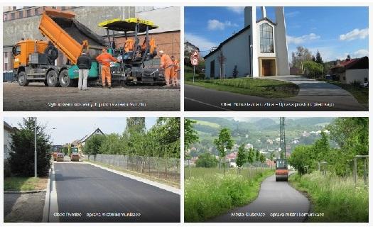 realizace a opravy dopravních staveb - SÚS Zlínska