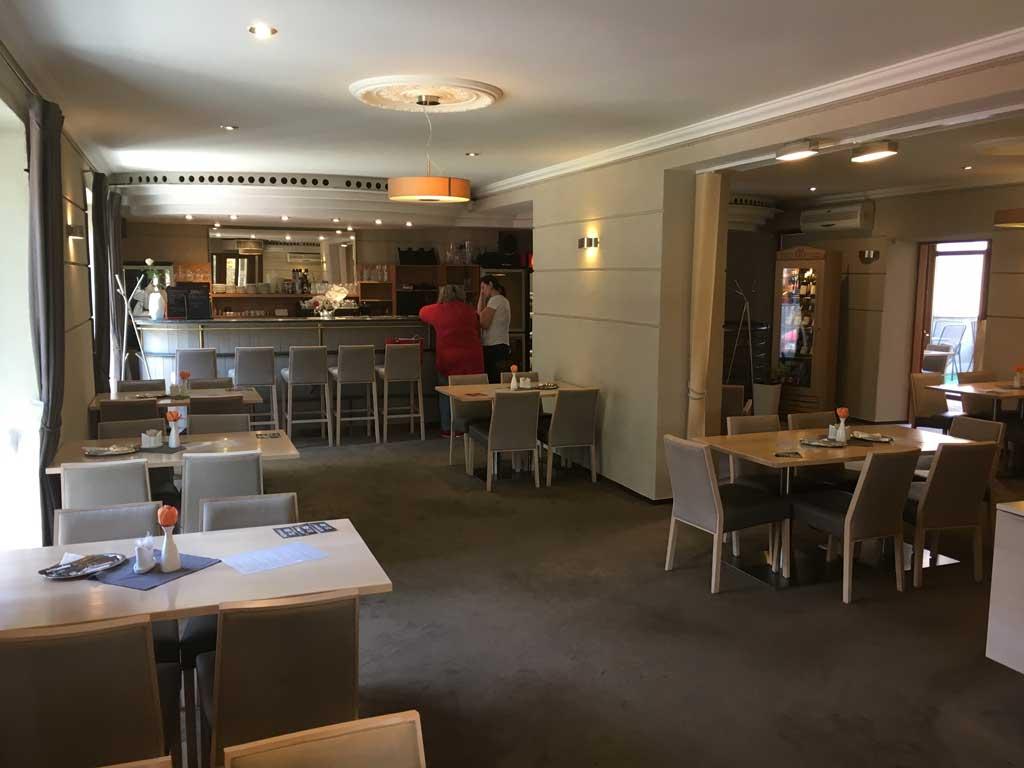 restaurace Amadeus - interiér, Třebíč