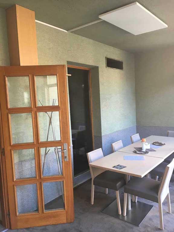 salonek restaurace Amadeus, Třebíč