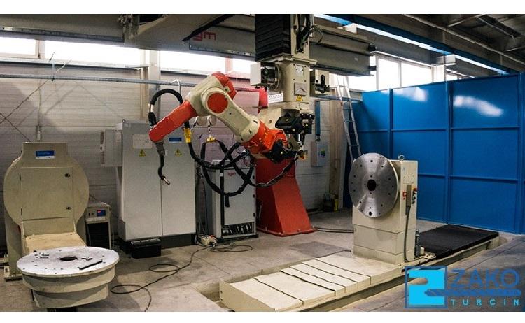 Robotické svařování - nový svařovací robot