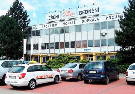 Pobočka SCASERV a.s. Praha - pronájem lešení, prodej