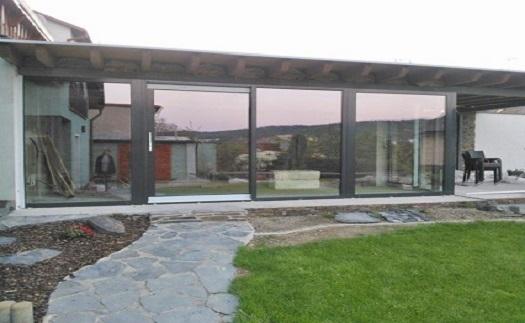 Montáž hliníkových oken - výroba na míru