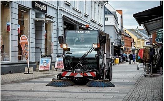 Prodej zametačů a další komunální techniky Jižní Morava