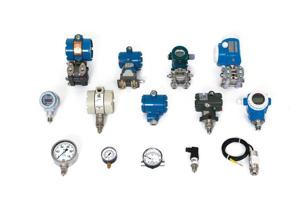 Snímače tlaku a tlakové diference, absolutní a relativní tlak
