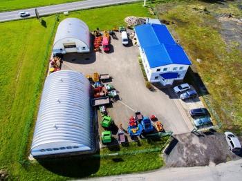 Prodejna zemědělských strojů a zařízení, B-AGRO Březová s.r.o. Zemědělská a lesnická technika