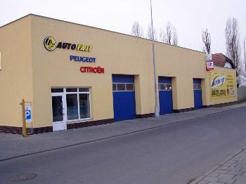 Pohled na hlavní budovu, AUTO JOSEF FAJT s.r.o.