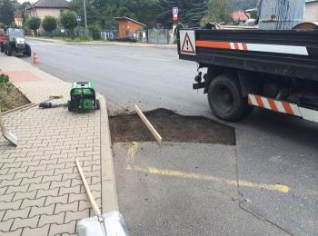 Ruční výkopové práce, POZKOM, s.r.o. Opravy a rekonstrukce komunikací Praha