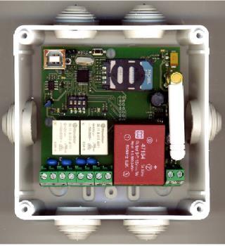 GSM dálkové ovládání B214U - Universal, Selax Electronics s.r.o. Výroba a vývoj GSM a GPS technologie