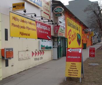 Nebankovní půjčky a úvěry, AKompas s.r.o. Brno