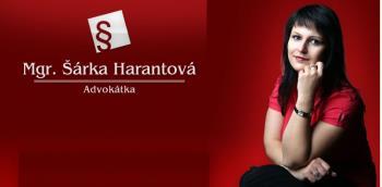 Mgr. Sarka Harantova, advokatka
