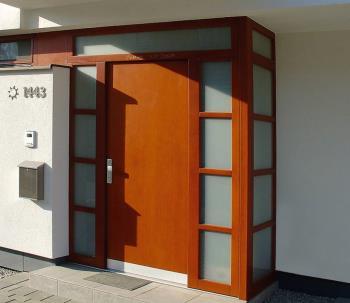 vchodové dveře, ALBO DŘEVĚNÁ OKNA A DVEŘE Bouchal Alois