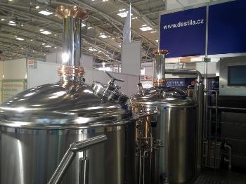 Minipivovar o kapacit� 50 000-1 200 000 l piva/rok, DESTILA, s.r.o.