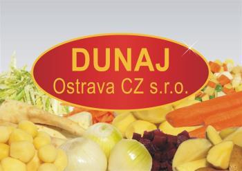 Brambory a zelenina pro gastro zařízení, Dunaj - Ostrava CZ s.r.o.