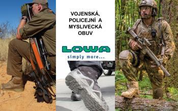 Vojenská, policejní a myslivecká obuv, PROSPORT PRAHA s.r.o.