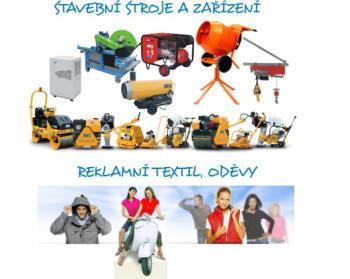 Půjčovna, pronájem stavební mechanizace, F.M.PRACOS, spol. s r.o. Stroje - Pracovní oděvy - Reklama - Tisk