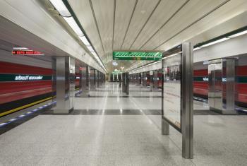 Projekce metro, METROPROJEKT Praha a.s. Projekční práce pro stavby metra Praha