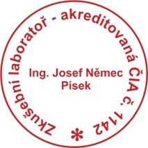 Laborator Pisek, akreditovana chemicka a mikrobiologicka laborator Ing. Josef Nemec