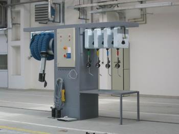 technologie, SOMAX TECH spol. s r.o. Mazací olejová a dílenská technika