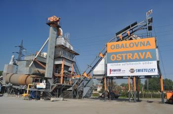Výroba živice, Obalovna Ostrava s.r.o.