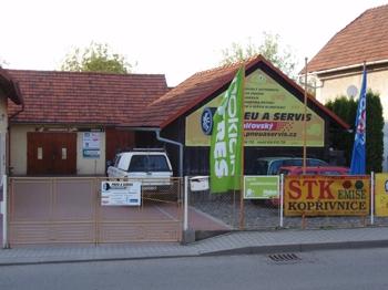 Sídlo firmy, Vladan Veřmiřovský Autoservis a pneuservis