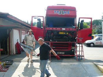 výměna skla nákladní auto, Autoskla Kudrna-Car