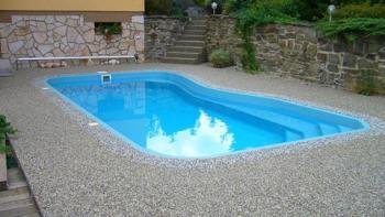 exteriérové kamínkové podlahy u bazénů, Profistone s.r.o.