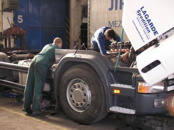 TRUCK union spol. s.r.o. Prodej a servis nákladních automobilů