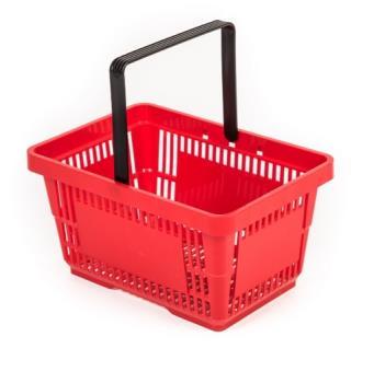 Prodej plastových nákupních košíků, MONTELA MH, s.r.o.