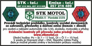 STANICE TECHNICKÉ KONTROLY MOTOL, s.r.o.