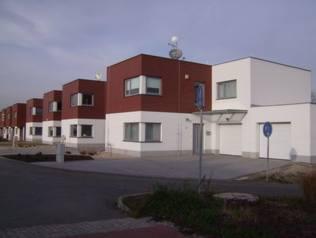výstavba řadových domů, Stavos Stavba a.s. Ostrava
