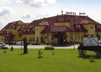 Vstup, Hotel - Restaurant Tři Věžičky