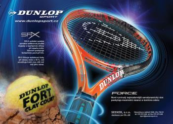 Vybavení pro tenis - Dunlop Zlín, SEEKER, s.r.o.