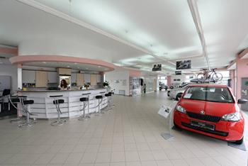 Autorizovaný prodejce vozů značky Škoda, AUTO GOLDCAR, a.s.
