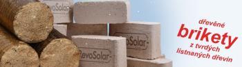 Dřevěné uhelné brikety, RevoSolar, s.r.o. Eco Fuel