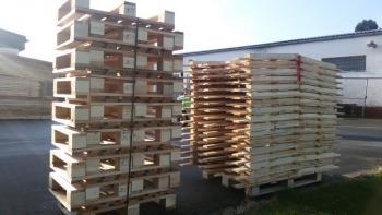 Dřevěné palety, Beneš Bohuňovice spol. s r.o.