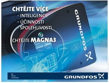 Oběhová čerpadla pro otopné, klimatizační a chladící systémy - MAGNA3, Grundfos Sales Czechia and Slovakia s.r.o.