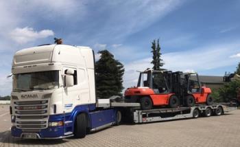 Nadrozměrné náklady, HRADIL Transport s.r.o.