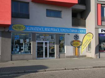 Prodej vzduchotechnických a klimatizačních zařízení, INKOMO CZ s.r.o.