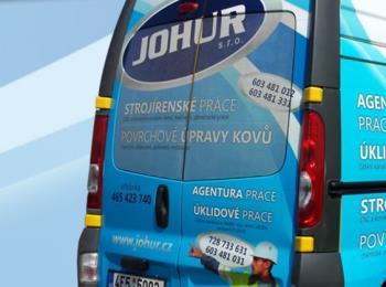 Povrchové úpravy, JOHUR s.r.o.