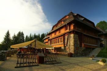 Ubytování na Šumavě, Hotel Klostermannova chata SOUDEK s.r.o.