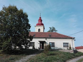 Kostel svatého Petra a Pavla, Obec Kostomlaty pod Řípem