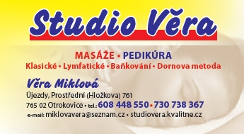 Mas�e lymfatick� Otrokovice, Studio V�ra Miklov� masazeotrokovice.cz