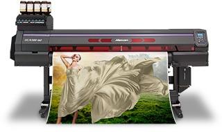 velkoplošná UV LED tiskárna kombinovaná s řezacím plotrem Mimaki UCJV300-160, ELECTRON, spol. s r.o.