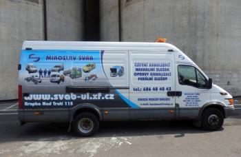 Havarijn� slu�ba, oprava kanalizac�, Miroslav �v�b �i�t�n� kanalizac� nonstop Teplice